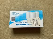 Linksys Velop Whole Home Wifi Dual Band 3 Pack