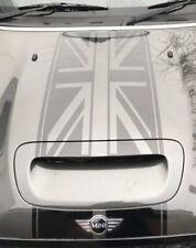 MINI COOPER S Union Jack BONNET Racing STRIPES VINYL GRAPHICS R55/56/57/58/59
