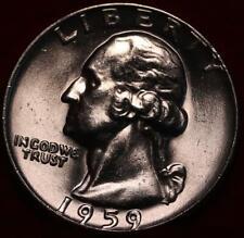 Uncirculated 1959 Phildelphia Mint Silver Washington Quarter