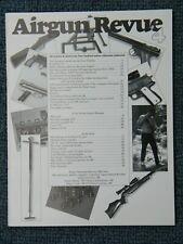 Airgun Revue #4 by Tom Gaylord - Excellent airgun information