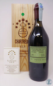 Liqueur CHARTREUSE V.E.P. Verte 2019 1L con Box