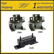 3 PCS MOTOR & TRANS MOUNT FOR 2004-2006 CHEVROLET SUBURBAN 1500 5.3L 4WD - AT