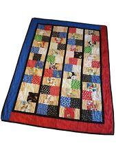 "New listing Berenstain Bears Handmade Quilt Blanket Approx 61"" X 46"" Kids Toddler"