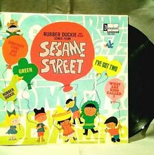 Rubber Duckie and Other Songs from Sesame Street Vintage 1970 Disneyland Records