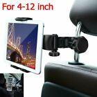 "360° Car Back Seat Headrest Mount Tablet Holder for 4-12"" Universal iPad Phone"