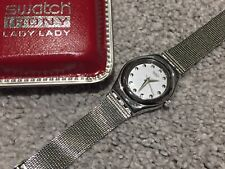 "VINTAGE SWATCH IRONY LADY ""LIBERTINE"" WATCH YSS109M LADIES/GIRLS"
