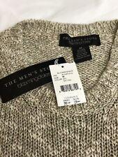 The Men's Store at Bloomingdale's Sweater Natural/Khaki Retail $298