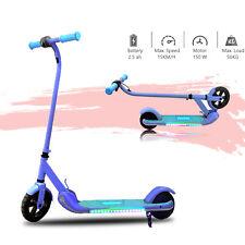 ElektroRoller Klappbar 150W Cityroller Kickroller mit LED Licht E Scooter Kinder