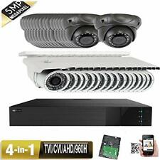 32Ch All-in-1 Dvr 5Mp 4-in-1 9-22mm Varifocal Ip66 Security Camera Outdoor tgfr