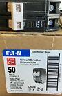 (1) Eaton CHF250 2 Pole 50 Amp Circuit Breaker Cutler Hammer CH250 NEW