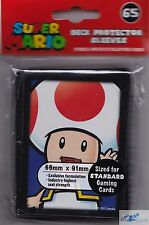 Super Mario Bros. Toad TCG ULTRA PRO DECK PROTECTOR CARD SLEEVES NES