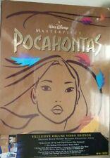 Pocahontas (VHS, 1996, Deluxe Collectors Edition)