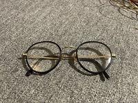 Vintage Round Black Frame Reading Glasses Spectacles