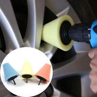1pcs 6mm Car Wheel Hub Cone Shaped Polishing Sponge Cleaner Tool Accessories