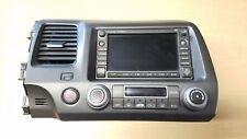 06-08 HONDA CIVIC HYBRID GPS NAVIGATION RADIO CD PLAYER # 39541-SNA-A320-M1 +VIN