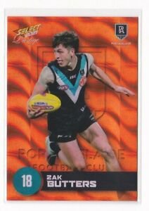 2021 Select Prestige RED PARALLEL Card - Zak Butters, Port Adelaide #191