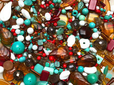 Czech Glass Beads 1lb Bag Of Assorted Shapes And Sizes: Southwest Scene