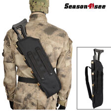 Tactical Molle Shotgun Rifle Shoulder Bag Scabbard Pouch Outdoor Hunting Case