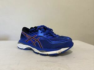 Ladies Women's Asics Gel Cumulus 19 Blue Running Shoes Gym Trainers UK 4 EU 37