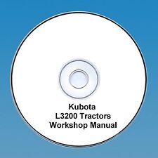 Kubota L3200 Tractor  Workshop Manual