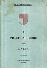1948 PRACTICAL GUIDE MALTA MAPS PHOTOGRAPHS LOCAL ADS KNIGHTS OF MALTA