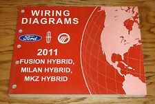 2011 Ford Fusion Mercury Milan Lincoln MKZ Hybrid Wiring Diagrams Manual 11