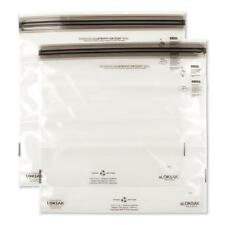 "Loksak aLOKSAK Waterproof 12"" x 12"" Tablet/Map Storage Bag - 2 PACK"
