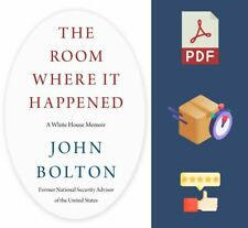The Room Where It Happened A White House Memoir ✅ Fast Delivery ✅