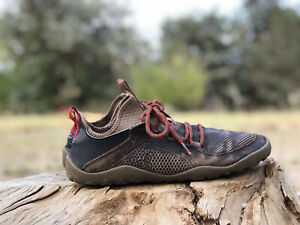 Vivobarefoot Primus Trek Brown Vintage Leather 43 Wide Barefoot Minimalist Shoes