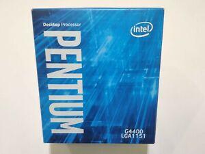[Reconditionné] Processeur CPU Intel Pentium G4400 LGA1151 + ventirad neuf