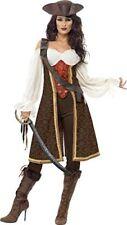 Smiffys Déguisement Femme Jeune Pirate de Haute Mer avec Robe Pantalon et BA