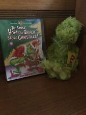 How The grinch Stole C 00004000 hristmas New Stuffed Animal And Dvd. By Dr. Seuss