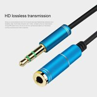 3.5mm Male To Female Extension Cable Headset Audio Extender Adapter Cord sdRQv