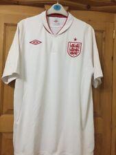 "ENGLAND 2012-2013 HOME UMBRO FOOTBALL SOCCER SHIRT JERSEY Size 46"""