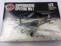 Supermarine Spitfire Mk1 Model 1/72 Kit Airfix 61071