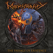 Monstrosity - The Passage of Existence BR Ed. Official DIGI 12 tracks w/ sticker