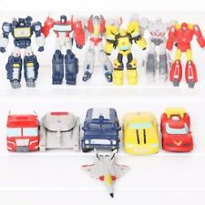 12 Pcs Transformers Optimus Bumblebee Megatron Starscream Action Figures Toy Set