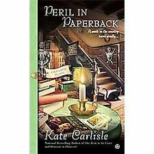 Peril in Paperback 6 by Kate Carlisle (2012, Paperback) Cozy Mystery
