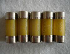 5 x 20 Amp Consumer Unit Fuses - Cartridge Fuse - 20A - BS1361 - FREE P&P