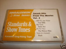 Smash Hits From The Movies Vol. 2 Karaoke Cassette S250