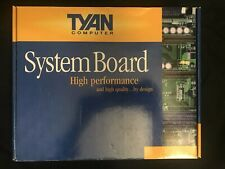 NEW! Tyan Computer S2507  Tiger 230 Intel Pentium III Dual Socket Motherboard