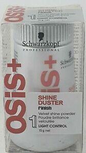 Schwarzkopf Osis Hair Shine Duster Finish Velvet Shine Powder 15 g