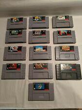 SNES Super Nintendo Games - Mario Kombat Instinct -LOTS OF GREAT TITLES & PRICES