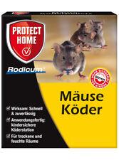 Bayer / SBM Rodicum Mäuse Köder mit Köderbox 2 Stück, anwendungsfertig Mäusegift