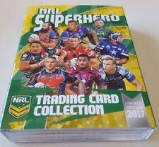 2017 ESP NRL Superhero Complete 25 Card Box Set Marvel Jersey Round Limited /100