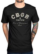 Official CBGB Underground Rock T-Shirt Punk Rock The Ramones Blondie New Merch