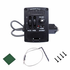 2 Band LED Chromatic Tuner Ukulele UKE Piezo Pickup EQ Equalizer UK-300T