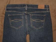 Abercrombie & Fitch Size 2R Emma Boot Cut Dark Blue Stretch Denim Womens Jeans