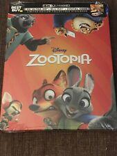 Zootopia Steelbook (4K Ultra HD/Blu-ray/Digital) LIMITED EDITION