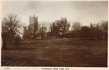 RPPC,Ely,U.K.Cathedral from Park,Cambridgeshire,c.1909